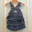 527.【USED】OSHKOSH Frill Jumper Skirt