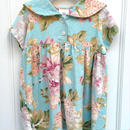 【USED】Mint Flower Dress (Wade in USA.)