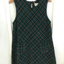 "303.【USED】""GYMBOREE"" Corduroy Check dress"