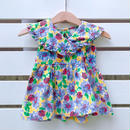 【USED】Flower× Ladybug print baby Dress