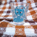 【USED】Vintage Moving Eyes Woman Glass