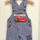 "【USED】""Cars"" Mcoueen Short Overall"