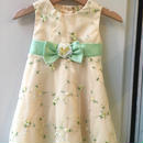 【USED】Yellow tulle flower dress