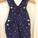 【USED】Birds print Overall