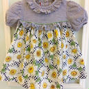 【USED】Daisy print skirt Dress