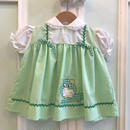 519.【USED】Cat  Vintage Green Dress
