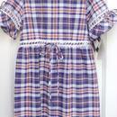 【Dead Stock】Bule Check Dress (Made in U.S.A.)