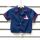 【USED】 Vintage Marine design shirts