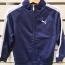 "【USED】""PUMA""  navy×white track top"