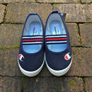 """【NEW】""""Champion"""" Flat Shoes / Navy"""