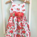 【USED】Pink flower print Dress