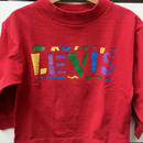 """89.【USED】""""Levi's"""" Red long Tee (made in U.S.A.)"""