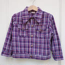 A.【USED】 VINTAGE Check Jacket