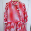 【USED】Gingham Frill Dress
