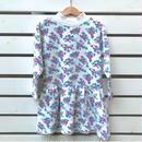 279.【USED】Flower  Sweat Dress