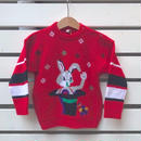 407.【USED】Hat Rabbit  Knit sweater