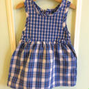 """【USED】""""Health-tex"""" Check dress (Made in U.S.A.)"""