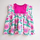 60's flower dress