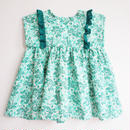 summer leaf dress