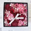 BOX FLOWER PinkRed