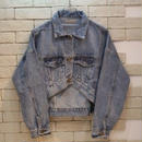 CROPPED DENIM JKT