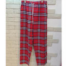 B CHECK E-Z PANTS -ST- RED