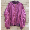 SATIN BOMBER JKT -NN- PURPLE