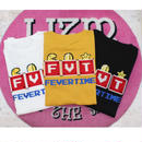 FEVERTIME MARIOT-SHIRT BLACK /WHITE/MUSTARD