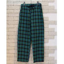 CHECK E-Z PANTS  GREEN×NAVY