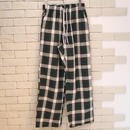 CHECK EASY PANTS -OR- GREEN
