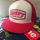 jorkers skateshop メッシュキャップ RED