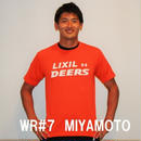DEERSTシャツ(ロゴオレンジ)