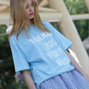 「VERYMAS」 THANKS SKY BLUE T-SHIRTS
