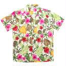 [Fresh anti youth] Floral Shirts - White