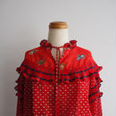 vintage Diane Freis Red Dress