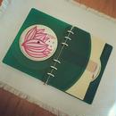 本物のレコードでできたノート  カラーバイナル  アップサイクル