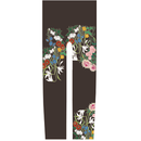 花 キッズレギンス 蝋色   120cm