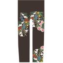 花 キッズレギンス 蝋色   105cm