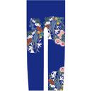 花 キッズレギンス 瑠璃紺色   105cm