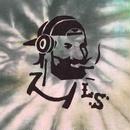 "【 LONG SET ORIGINAL 】LSD-013 × TK HOME DYE WORKS ""DJ ZIG-ZAG MAN"" TIE DYE TANK TOP (E / SIZE: L)"