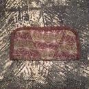 mash mashRe-28 Wallet w/Hand Stitch (LIGHT GREEN × BROWN)