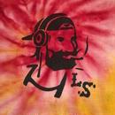 "【 LONG SET ORIGINAL 】LSD-013 × TK HOME DYE WORKS ""DJ ZIG-ZAG MAN"" TIE DYE TANK TOP (C / SIZE: L)"