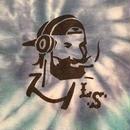 "【 LONG SET ORIGINAL 】LSD-013 × TK HOME DYE WORKS ""DJ ZIG-ZAG MAN"" TIE DYE TANK TOP (A / SIZE: M)"