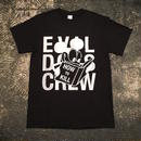 "【 EVIL DOTS CREW 】DIRTY RAT ""HOW 2 KILL"" TEE (BLACK/WHITE) LONG SET 限定カラー"