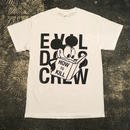 "【 EVIL DOTS CREW 】DIRTY RAT ""HOW 2 KILL"" TEE (WHITE/BLACK)"