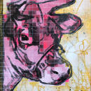 BITMAP COW (Pink)