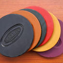 BROOKS LEASTHER COASTERS(6pcs)