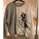 80s~90s OLD Mickey sweatshirt