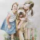 家族の肖像画  (A3)