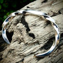 Twist Bangle Silver 925 & Diamond